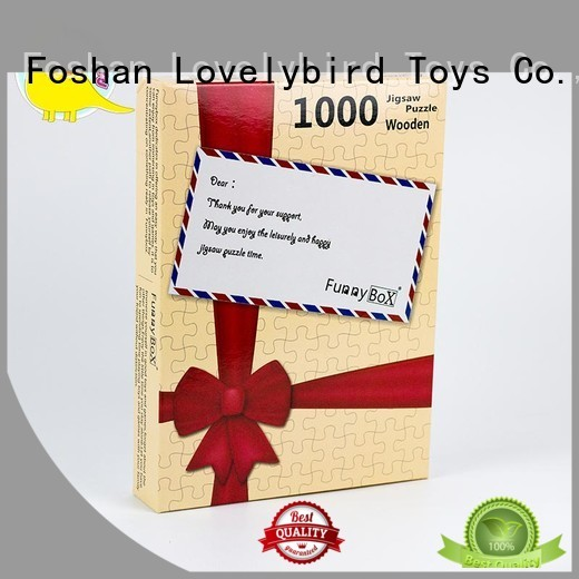 Lovelybird Toys puzzle 1000 piece jigsaw puzzles gift for
