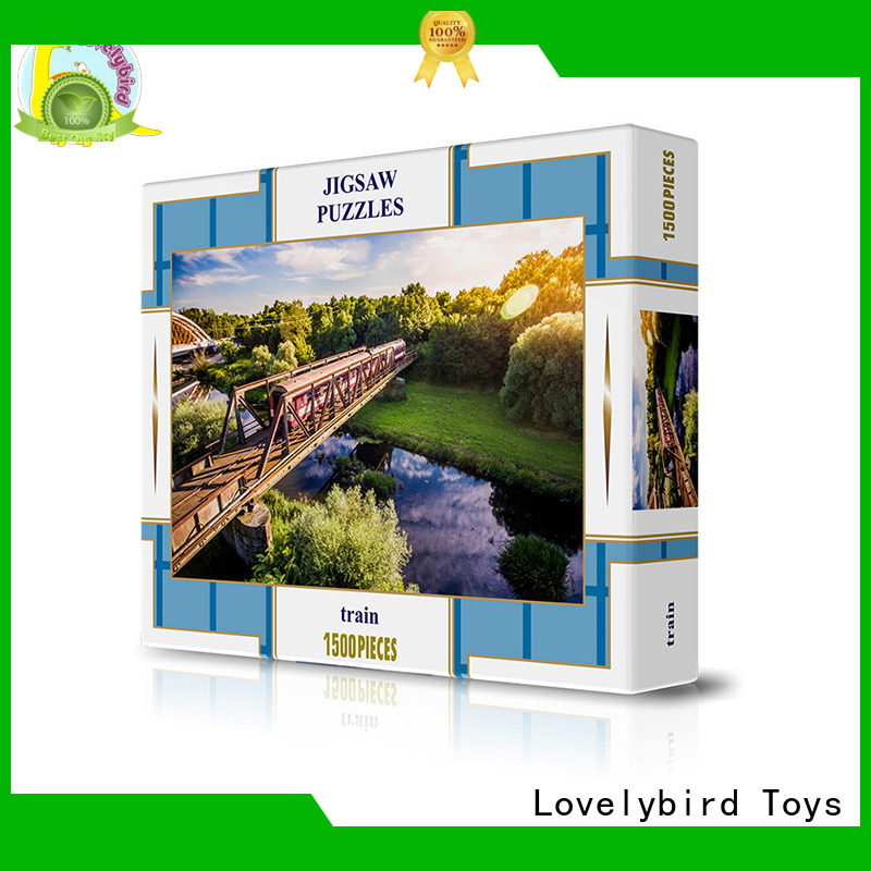 Lovelybird Toys custom puzzle 1500 manufacturer for present