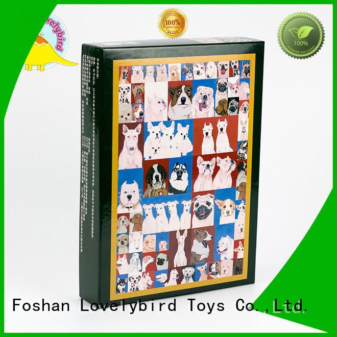 Lovelybird Toys educational best wooden jigsaw puzzles for entertainment