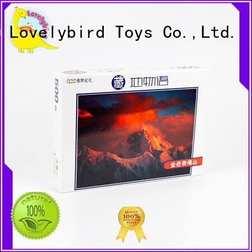 wooden jigsaw puzzles lovely Lovelybird Toys