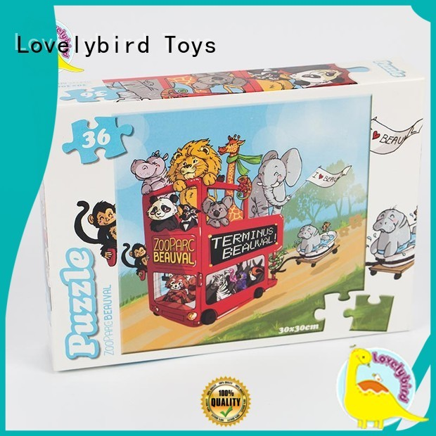 lovely 36 piece puzzle supply for present