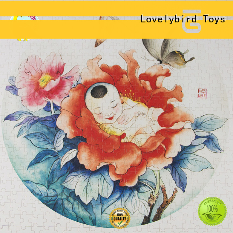 hot sale wooden puzzles for kids with frame for sale