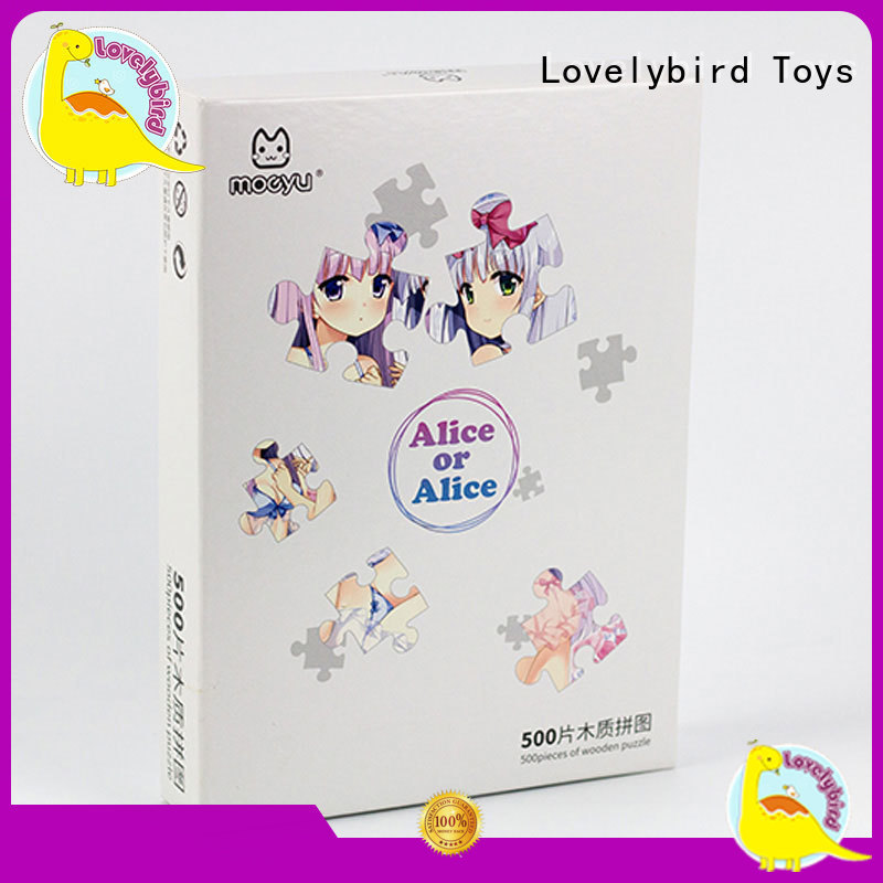 new wooden puzzles for kids popular for adult Lovelybird Toys