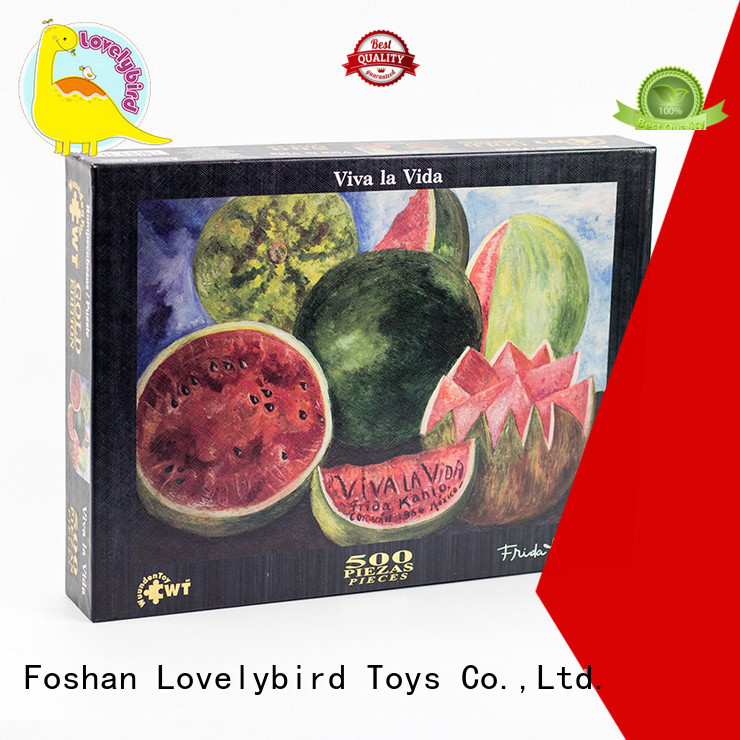 Lovelybird Toys easy jigsaw puzzles wholesale for adult