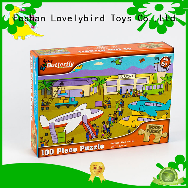 Lovelybird Toys latest wooden jigsaw puzzles toy for kids