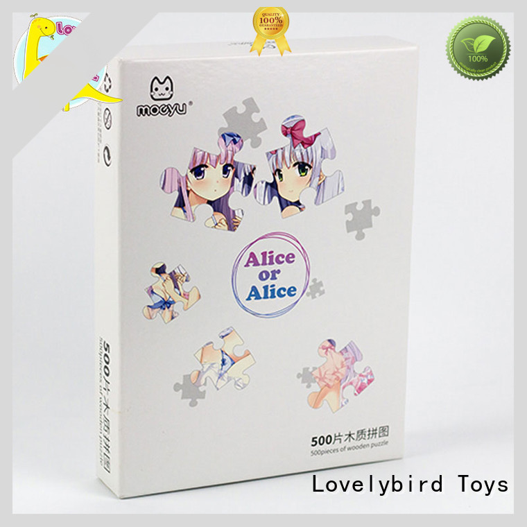 Lovelybird Toys childrens wooden puzzles toy for kids