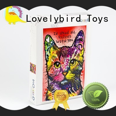 popular personalised wooden puzzles professional for adult Lovelybird Toys