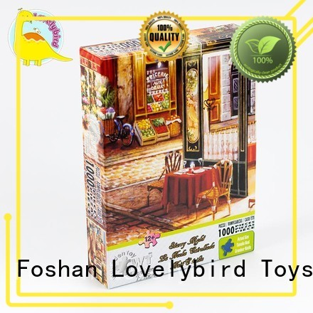Lovelybird Toys educational 1000 piece jigsaw puzzles manufacturer for kids