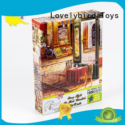 Lovelybird Toys colorful 1000 puzzle manufacturer for entertainment