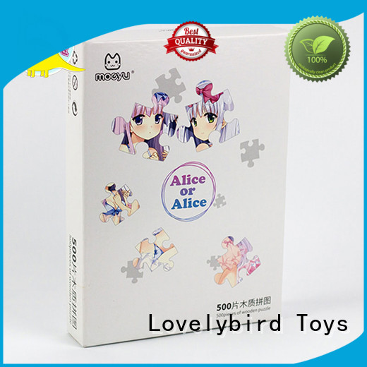 with personalised wooden puzzles with for Lovelybird Toys