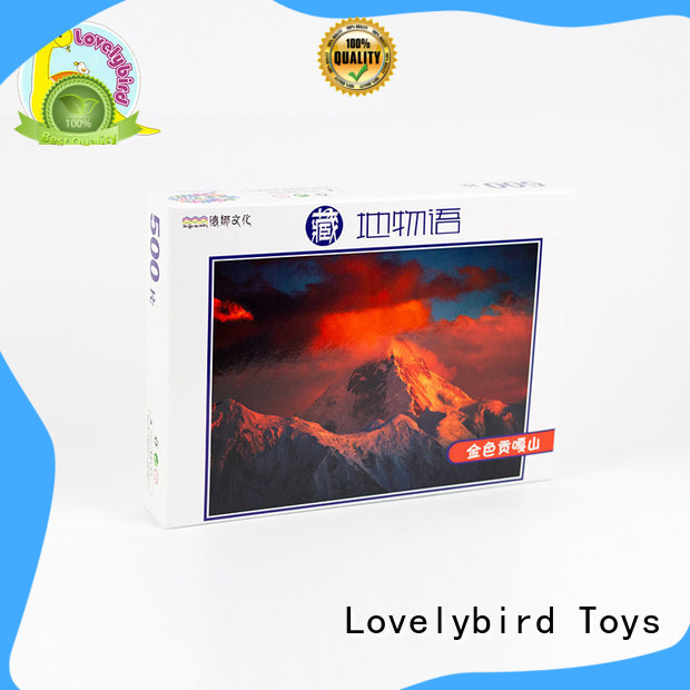 Lovelybird Toys wooden puzzles for kids toy for adult