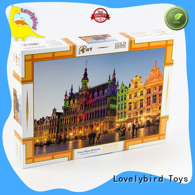 Lovelybird Toys jigsaw puzzle gratuit factory for kids