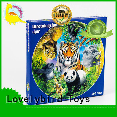 Lovelybird Toys embossing jigsaw puzzles gratuits toy for entertainment