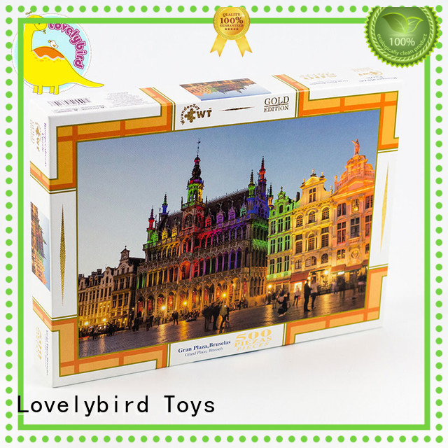 popular puzzle jigsaw Lovelybird Toys Brand company