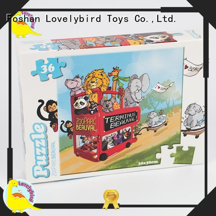 designed cartoon jigsaw puzzles supplier for sale