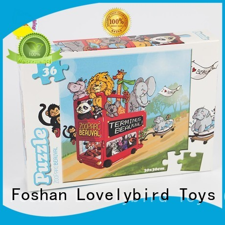 Lovelybird Toys educational childrens jigsaw puzzles toy for entertainment