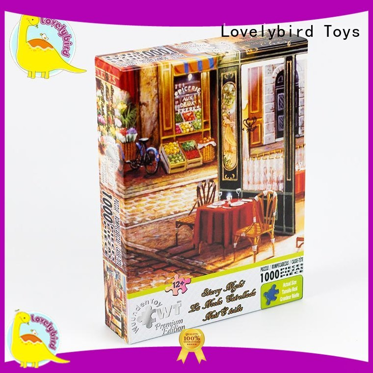 popular  1000 jigsaw puzzles toy for entertainment