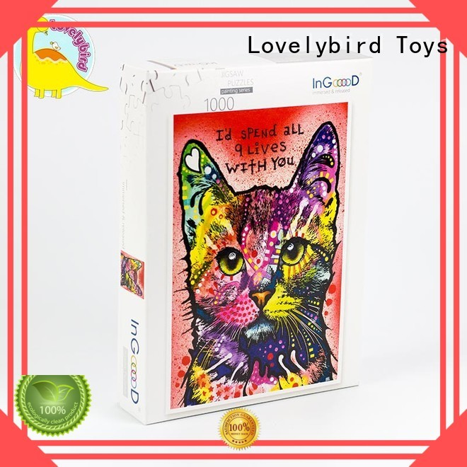 Lovelybird Toys wooden puzzles with frame for sale