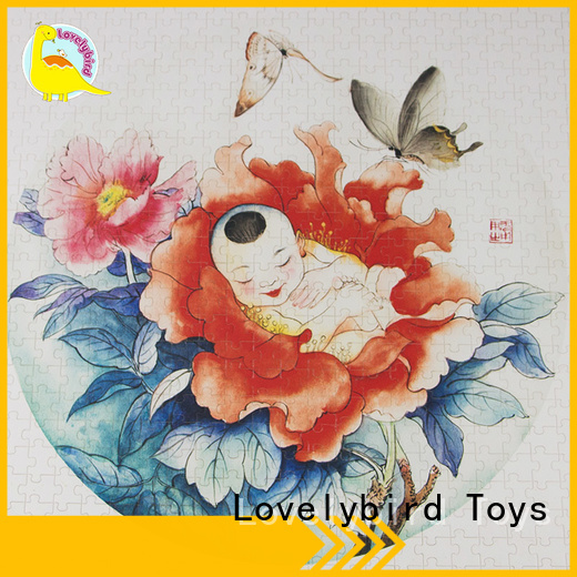 personalized wooden puzzles popular for sale Lovelybird Toys