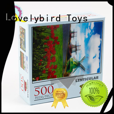 500pc paper game stamping Lovelybird Toys Brand company