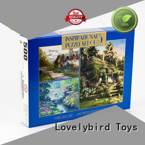 interesting holiday jigsaw puzzles maker for kids Lovelybird Toys