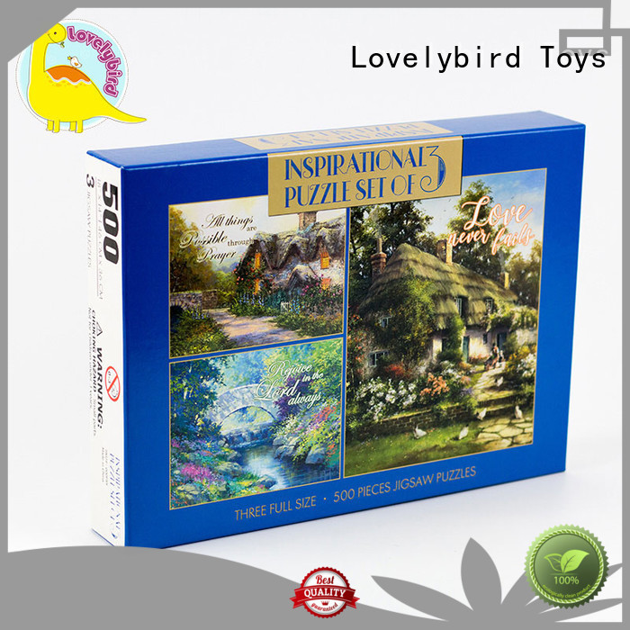 Lovelybird Toys christmas jigsaw puzzles wholesale for adult