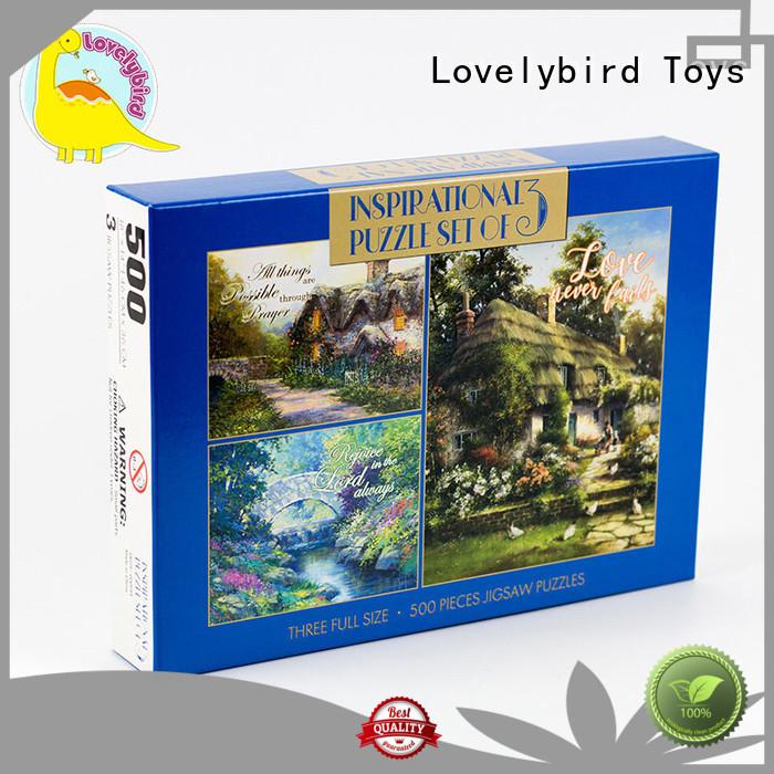 Lovelybird Toys christmas jigsaw puzzles wholesale for adult