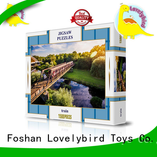 Lovelybird Toys funny jigsaw puzzles customization for present