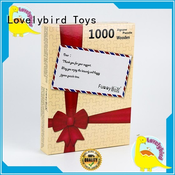 Lovelybird Toys educational 1000 puzzle for entertainment