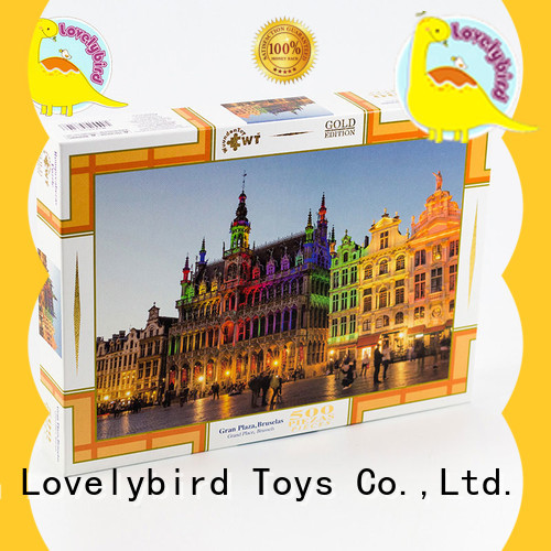 stamping jigsaw Lovelybird Toys Brand