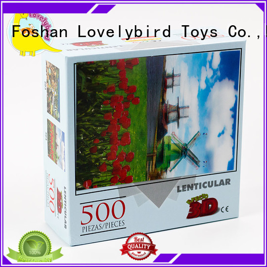 Lovelybird Toys popular new jigsaw puzzles toy for entertainment
