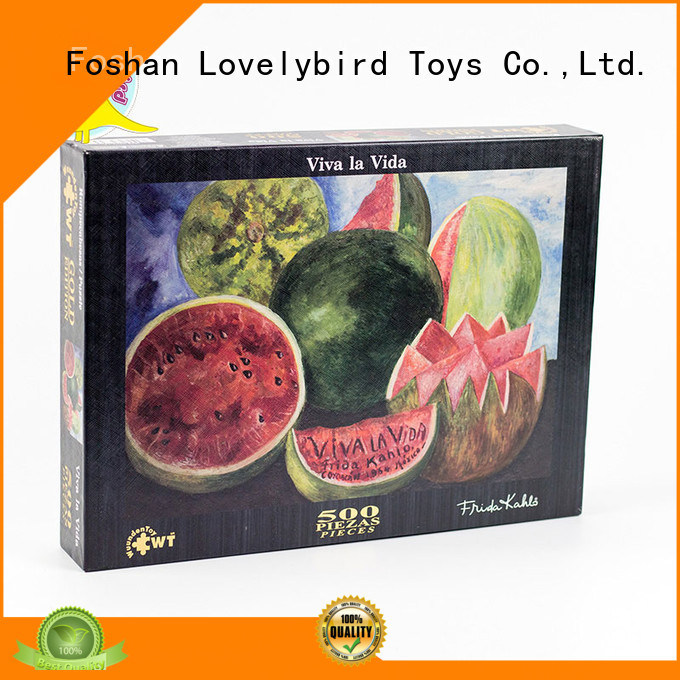 Lovelybird Toys best jigsaw puzzles toy for entertainment