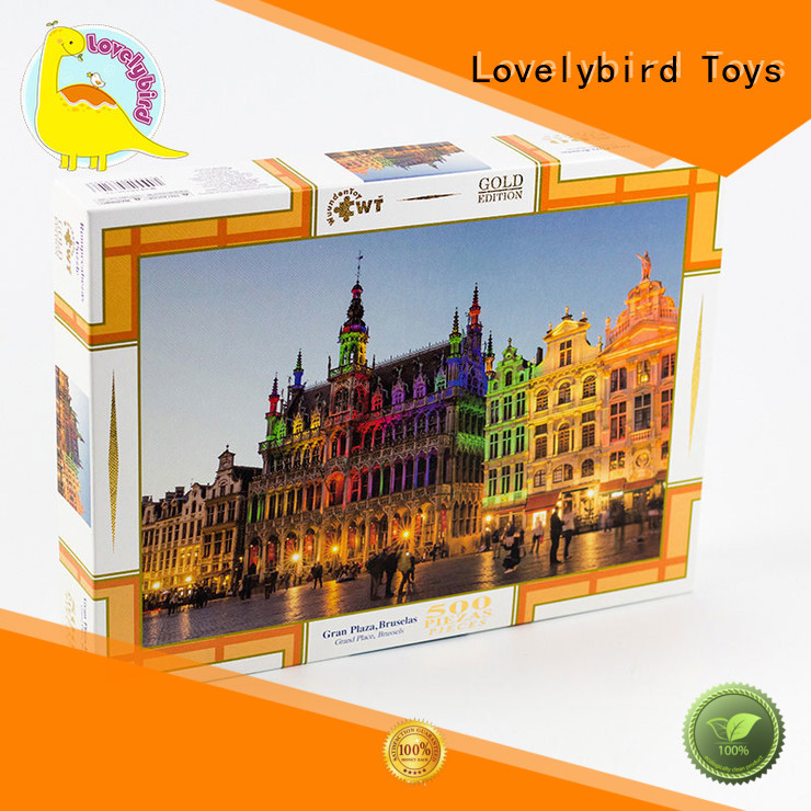 popular 500 piece jigsaw puzzles wholesale for adult Lovelybird Toys