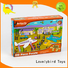wooden puzzles for toddlers with poster for adult Lovelybird Toys