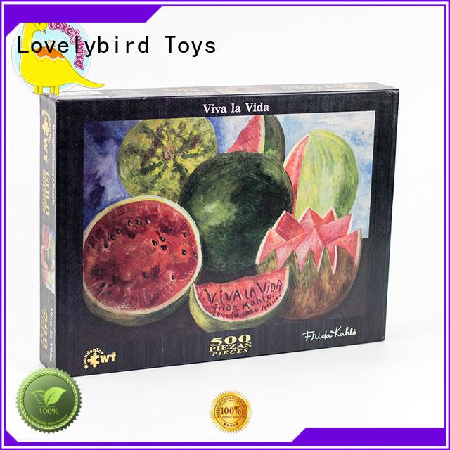 hot sale best jigsaw puzzles interesting for kids Lovelybird Toys