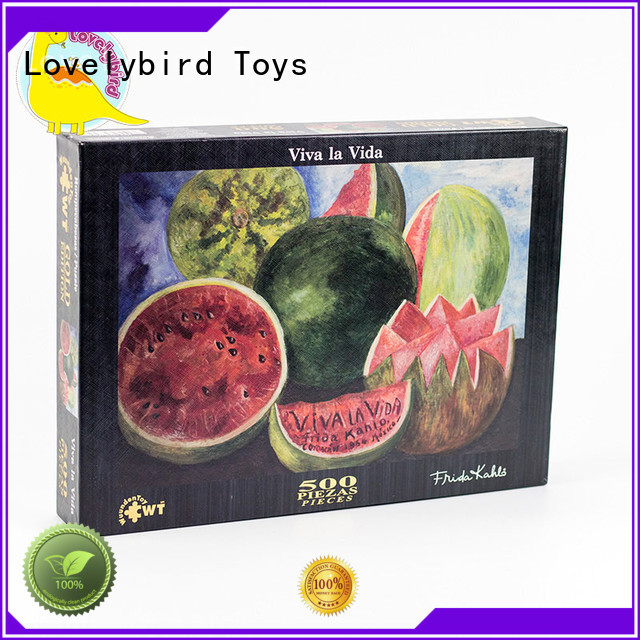 hot sale best jigsaw puzzles interesting for kids Lovelybird Toys