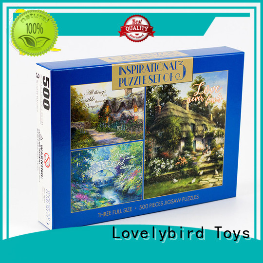 interesting holiday jigsaw puzzles cool for adult Lovelybird Toys