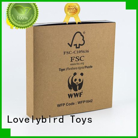 Lovelybird Toys animal jigsaw puzzles supplier for entertainment