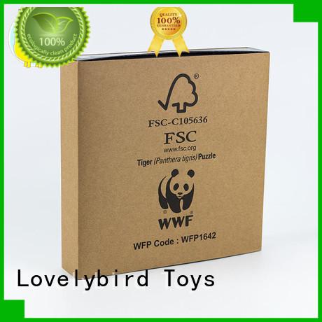 Lovelybird Toys animal jigsaw puzzles supplier for entertainment
