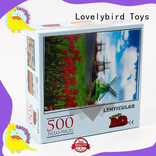 popular 500 piece puzzles wholesale for entertainment Lovelybird Toys