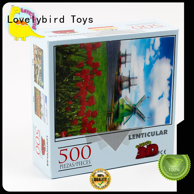 Lovelybird Toys hot stamping best jigsaw puzzles wholesale for kids