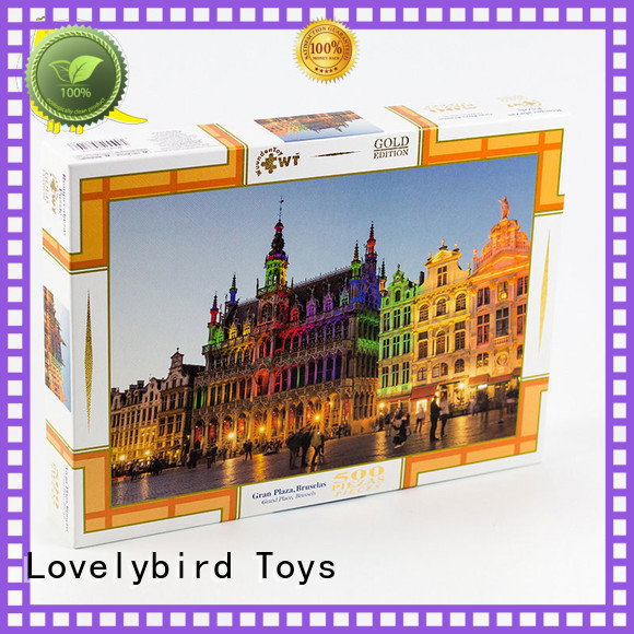 Lovelybird Toys embossing new jigsaw puzzles hot sale for sale