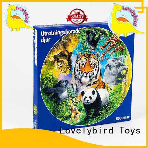 Lovelybird Toys puzzle 500 wholesale for adult