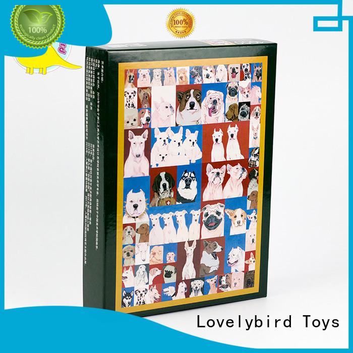 good selling custom wooden puzzles best for kids Lovelybird Toys