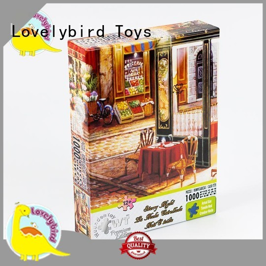new 1000 puzzle high quality for kids Lovelybird Toys