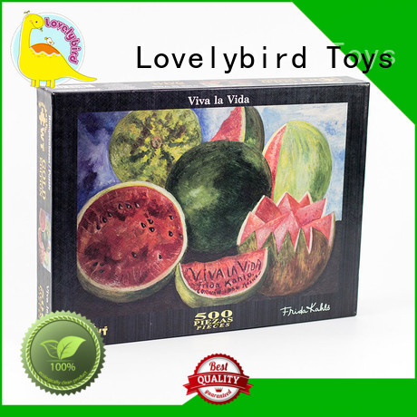 Lovelybird Toys jigsaw puzzle gratuit toy for adult