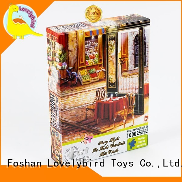 new animal jigsaw puzzles toy for kids Lovelybird Toys