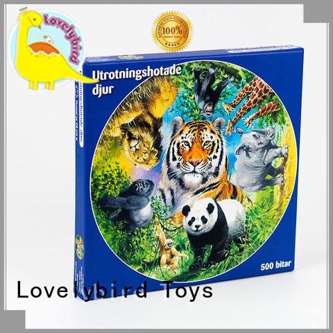 Lovelybird Toys best jigsaw puzzles design for adult