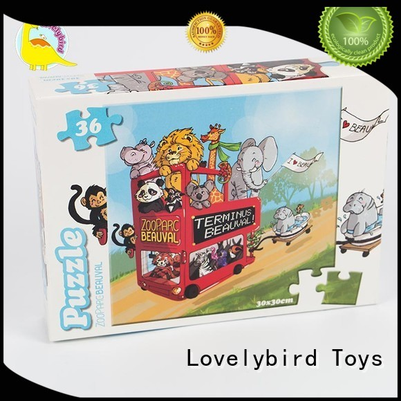 36 piece puzzle beautiful for entertainment Lovelybird Toys
