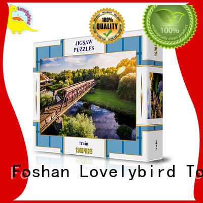 Lovelybird Toys Brand stamping 1500pc puzzle